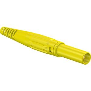 XL-410, 4mm Sicherheits Stecker gelb