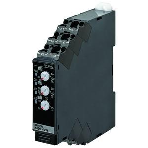 K8DT-VW2CA, Überwachungsrelais, 17.5mm, Einphasige Über-& Unterspannungsüberwachung, 1 bis 150V AC/DC, 1 Wechsler, 100-240V AC