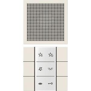 SI AI LS 6 W, Audio-Innenstation, Beschriftungsfeld, Beschriftungsfolien, Anschlusskabel