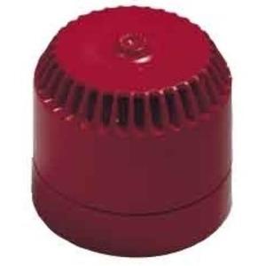 Elektronsiche Sirene ca. 112 dB, Anschluss an 110-230 V, rot, E4141