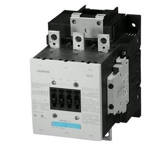 3RT1054-6AP36, Schütz,AC-3,115A/55kW/400V,3-polig,AC/DC220-240V,2S+2Ö,Anschlussschiene/Schraubanschluss