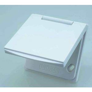 PREMIUM KU 1 weiß, Premium Saugdose KU1 weiß, Kunststoff Saugdose weiß, universal