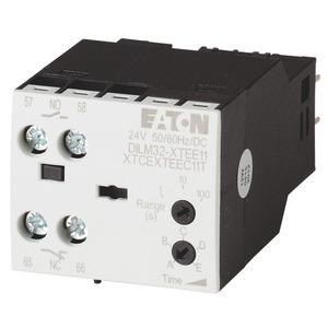 DILM32-XTEE11(RA24), Zeitbaustein, 24 V AC/DC, 0,05 - 100 s, ansprechverzögert