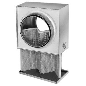 LFBR 100, LFBR 100, Luftfilter-Box für Rohrdurchmesser 100 mm