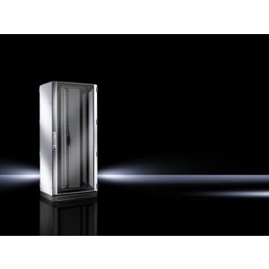 DK 5503.151, Netzwerk-/Serverschrank, geschlossene Türen,vormontiert,19-MR, BHT 800x1300x800