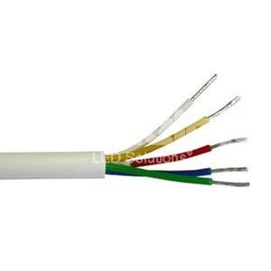 Kabel 2m für den Innenbereich, 5polig, weiß, inkl. Anlöten an LED Streifen