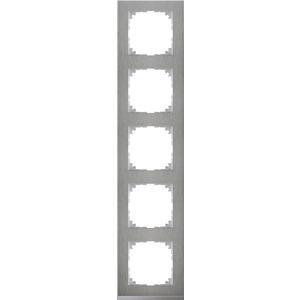 M-Pure Decor-Rahmen, 5fach, Edelstahl/aluminium, M-Pure Decor