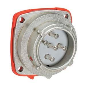PN EINBAUSTECKER METALL Size.1 IP66/67 3P+N+E 30A 440V AC