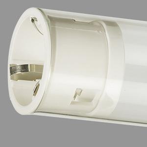 Lampenschutzrohr, PC (bruchsicher) glasklar, 58W