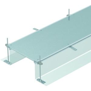 OKA-G40040240, Kanaleinheit estrichbündig blind 2400x400x240, St, FS, Preis per Stück, L=2,4m