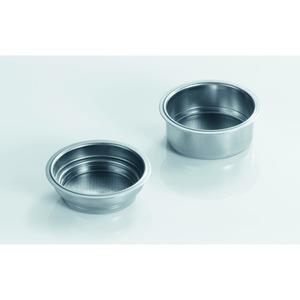 Siebeinsätze doppelwandig, Siebeinsätze doppelwandig 1 u. 2 Tassen ES80/81