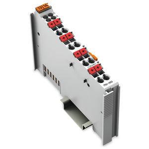 750-603, Potentialvervielfältigung 8-fach 24 V lichtgrau