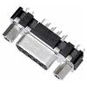 Steckverbinder, Wellenlötanschluss, Bemessungsstrom: 6,5A, Buchse, Baugröße: D-Sub 1