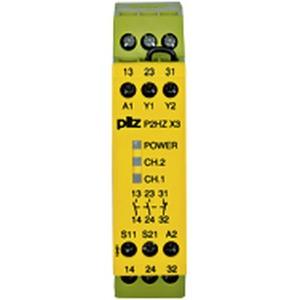 P2HZ X3 24VDC 2n/o 1n/c
