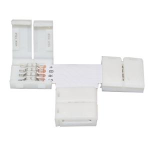 Verbinder T Flexible LED 5050/5630 2-polig 5er Set, Verbinder T Flexible LED 5050/5630 2-polig 5er Set