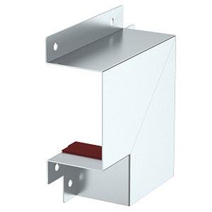 BSKM-FW 0711, Flachwinkel für Wand- und Deckenmontage 70x110, St, FS