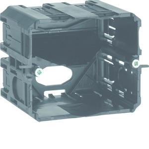 Geräteeinbaudose C-Profil HxB 55x60 schw