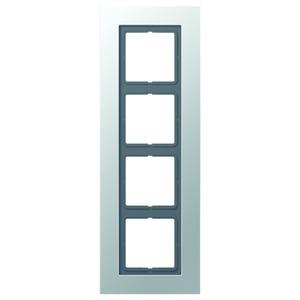 LSP 984 AL, Rahmen, 4fach, für waagerechte und senkrechte Kombination
