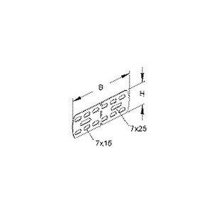RVV 50 F, Universalverbinder, 44x135 mm, Stahl, feuerverzinkt DIN EN ISO 1461, inkl. Zubehör