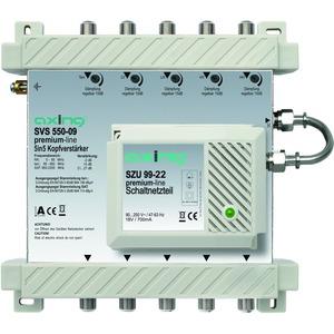 Breitband-Kopfverstärker, 15-27 dB, 5-2200 MHz, 5 Ein-/Ausgänge