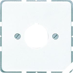 Abdeckung, Tragring, Schraubbef., für Befehlsgeräte mit 22,5 mm Ø