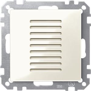 Raumtemperaturregler für den Objektbereich, weiß glänzend, System M