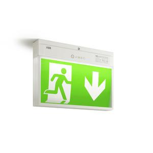 HNEL3 LED, Selbstüberwachende Einzelbatterie-Leuchten , IP54, 25 m, 3 W LED,