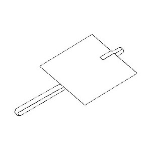 328F2, Plattenerder, Länge 1000 mm, 500x2000x3 mm, Stahl, feuerverzinkt DIN EN ISO 1461