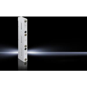 SV 9340.000, Sammelschienenhalter 3-polig, 60 mm Mittenabstand, für E-Cu 12x5-30x10 mm, Preis per VPE, VPE = 4 Stück