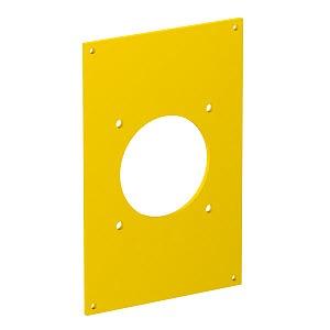 VHF-P3, Abdeckplatte VHF8/P4 1x CEE 16A 60x60mm für Feuchträume geeignet