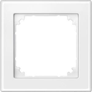 M-SMART-Rahmen, 1fach, polarweiß