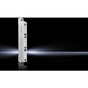 SV 9340.010, Sammelschienenhalter 3-polig, 60 mm Mittenabstand, für E-Cu 12x5-30x10 mm (Auß.), Preis per VPE, VPE = 4 Stück