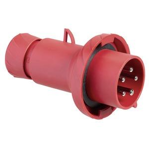 CEE Stecker, Schneidklemmen, 32A, 3p+E, 380-440V AC, IP67