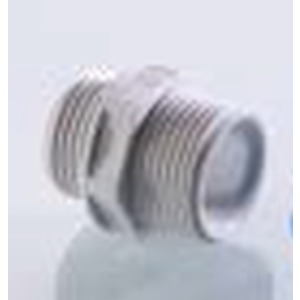 DN 151u, Doppelnippel PG11 Kunststoff