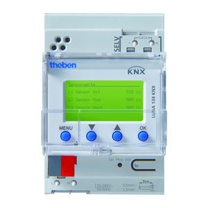 LUNA 134 KNX, KNX 10-Kanal-Dämmerungschalter