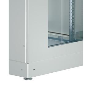 IS-1 Sockel 100 x 800 x 900 geschlossenRAL 7035 verpackt