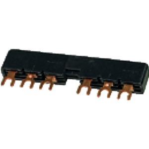 B3.2/2-PKZ0, Drehstromschienenblock, Schutzschalter: 2, 108 mm, für PKZM0‐… oder PKE12, PKE32 ohne seitlich angebaute Hilfsschalter oder Spannungsauslöser