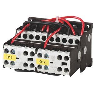 DIULEEM/21/MV(230V50HZ,240V60HZ), Wendeschützkombination, 3-polig, + 2 Schließer frei, 3 kW/400 V/AC3