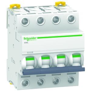 Leitungsschutzschalter iC60L, 4P, 2A, B-Charakteristik, 100kA