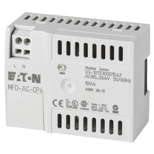 MFD-AC-CP4, Kommunik.modul/Netzteil für abgesetzte Textanzeige, 100-240VAC, easy/EC4P/ES4P