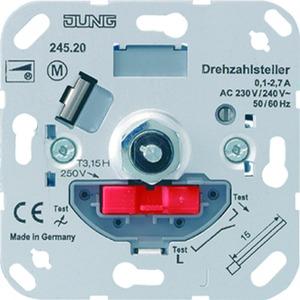 Drehzahlsteller, Lamellenverstellung, für Motoren 0,1 bis 2,3 A