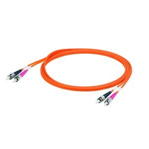 IE-FM6Z2VO0003MST0ST0X, Datenleitung (konfektioniert) LWL, ZIPCORD, ST, ST IP 20, PVC, 62.5 µm, 3 m