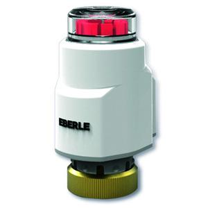 TS Ultra (24 V), Stellantrieb stromlos geschlossen 24V AC/DC 2,5W, Arbeitshub 5,5mm, 100 N Schliesskraft, IP44, Festes Kabel
