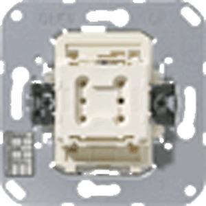 4071.01 LED, KNX Taster BA, 1fach, Tasterstellung, Funktion: Schalten (Tasten), Dimmen, Status