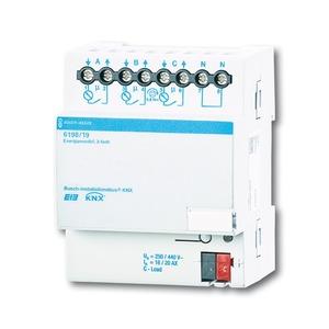 6198/19, Energiemodul REG, Busch-Installationsbus KNX, REG-Energieaktor/REG-Energiemodul
