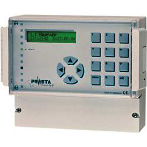 Signalhauptuhr 12/24 V, ohne Gangreserve-Akku, 2 NU-Linien, 2 pot.-freie Kontakte