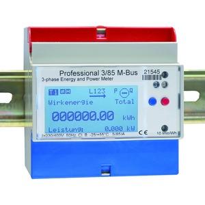 Energiezähler Professional, Wandleranschluss 1A oder 5A