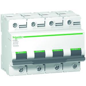 Leitungsschutzschalter C120N, 4P, 100A, C Charakteristik, 10kA