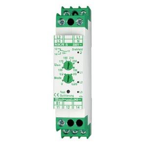 NKR 5, Netz-Überwachungs-Relais NKR 5 mit Drehfeld und F-Sp., 3x230/400V AC, 1W