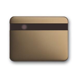 6815-21, Busch-Komfortschalter Bedienelement, bronze, alpha, Bedienelemente für Bewegungsmelder/Komfortschalter